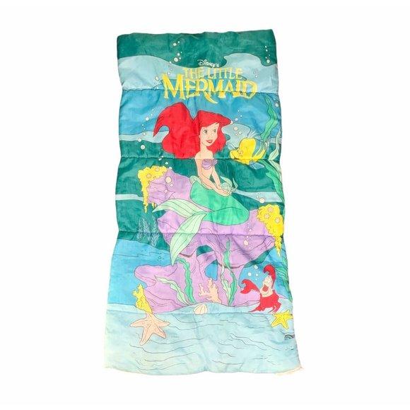 The Little Mermaid Vintage Sleeping Bag Disney